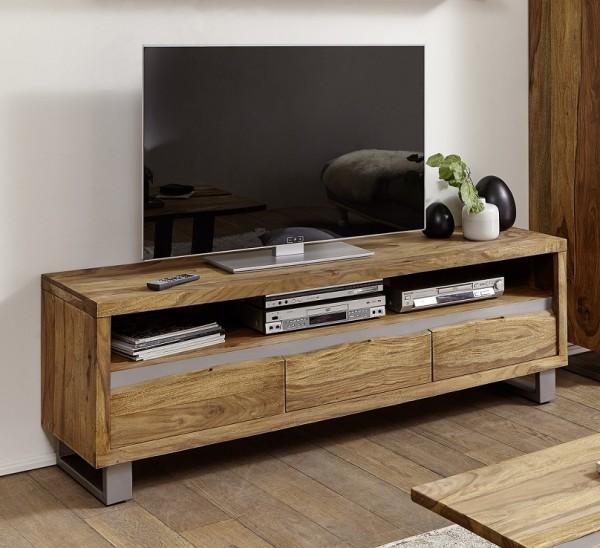"TV-Element 170x56cm ""Bahrain"" Sheesham & Metall"