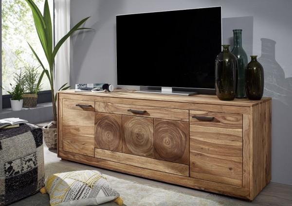"""TV-Element 178x62cm """"Rio"""" Sheesham massiv"""