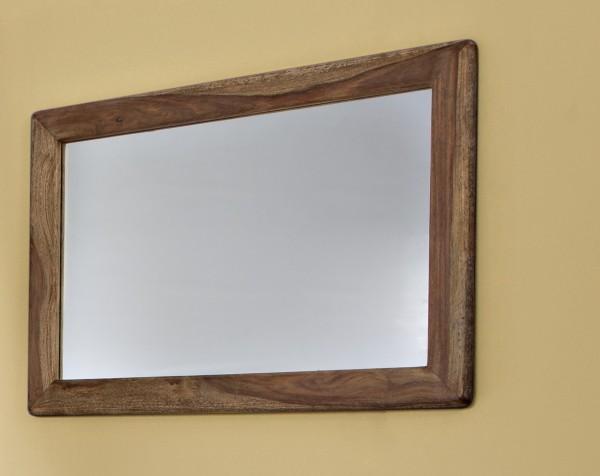 """Wandspiegel 100x70cm """"Indian Sunset"""" Sheesham"""