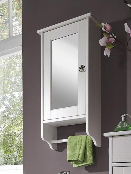 Spiegelschrank 'Linz' Kiefer weiß