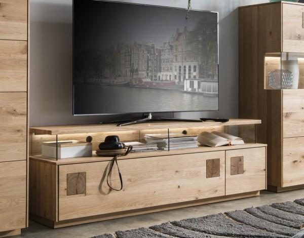 TV Element 170x56cm 'Monza' Wildeiche geölt