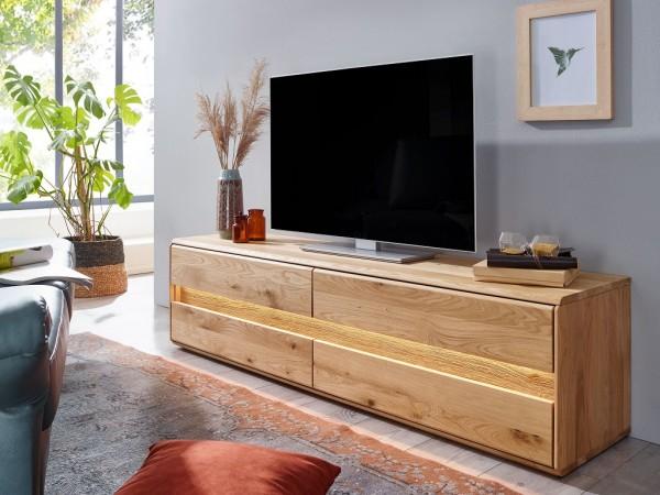 """TV Element 184x48cm """"Berlin"""" Wildeiche geölt"""