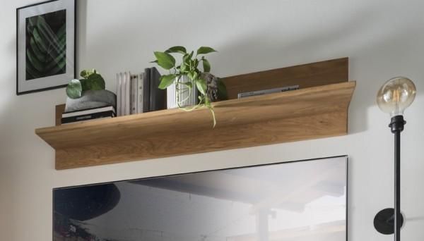 Wandboard 125cm 'Wien' Wildeiche geölt