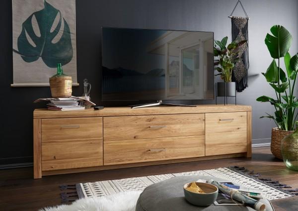 """TV Element 223x56cm """"Dover"""" Wildeiche geölt WZ-0169"""