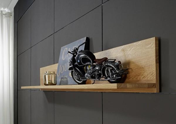 Wandboard 110cm 'San Remo' Wildeiche geölt