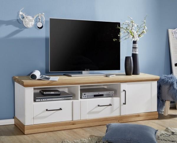 TV Element 181x55cm 'Jale' Kiefer & Eiche massiv