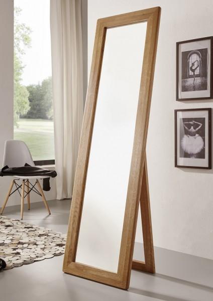 Standspiegel 50x175cm 'Bayreuth' Wildeiche massiv