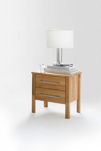 Nachttisch 45x45cm 'Bozen' Kernbuche geölt