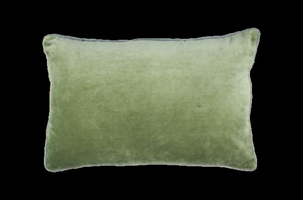 Baumwollkissen 60x40cm 'Jana' grün