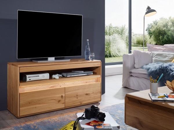"""TV Element 123x63cm """"Berlin"""" Wildeiche geölt"""