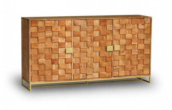 Sideboard 160x85cm 'Assuan' Akazie lackiert