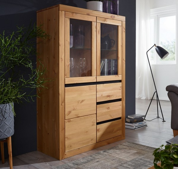Highboard 95cm 'Porto' Kiefer eichefarbig
