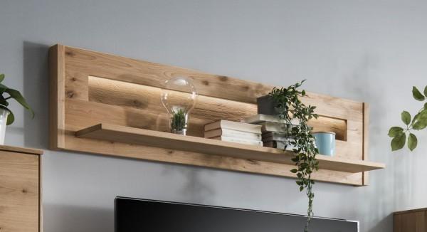 Wandboard 155cm 'Monza' Wildeiche geölt