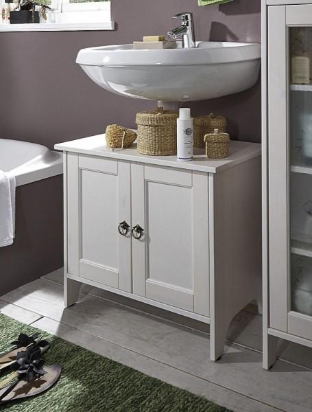 Waschbeckenunterschrank 'Linz' Kiefer weiß