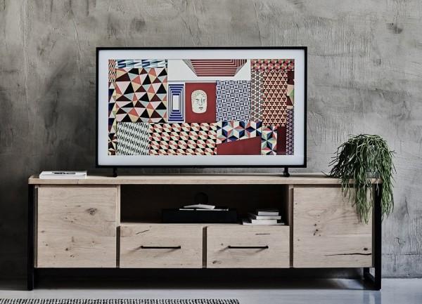 TV Element 180x56cm 'Jondrik' Wildeiche
