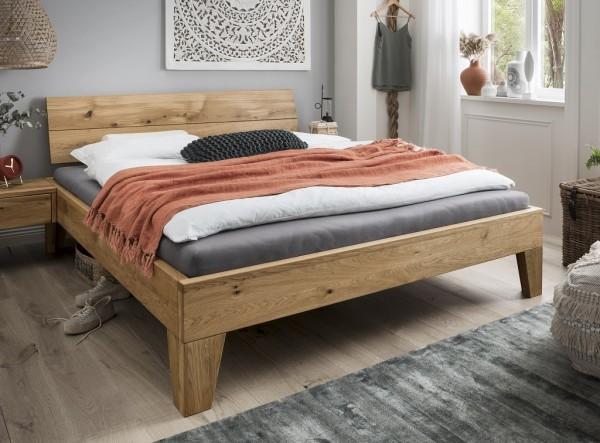 Doppelbett 'Redwood II' 180x200cm Wildeiche geölt
