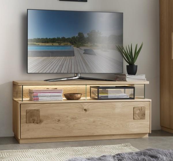 TV Element 130x56cm 'Monza' Wildeiche geölt